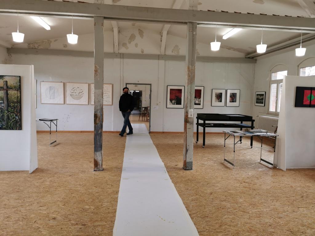 Bilder im Ausstellungsraum