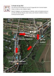 Lageplan BT24 im albgut